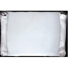 Marmette in resina rettangolare con bordi a pergamena cm. 5,0 x 7,5